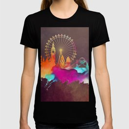 Original London skyline art T-shirt