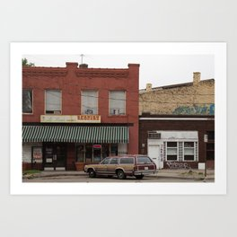 La Posada / Grocer on Southwest Boulevard Art Print