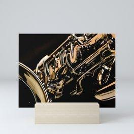 Musical Gold Mini Art Print
