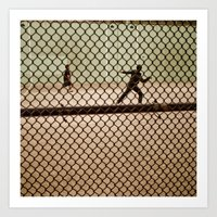 Hand Ball NYC Art Print