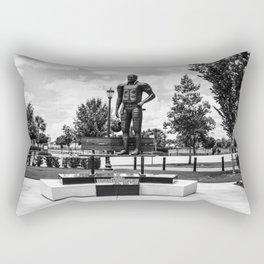 George Rogers Statue Rectangular Pillow