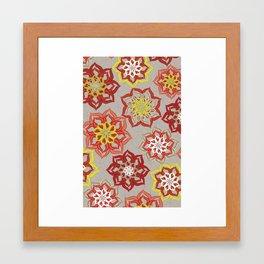 Fresh Cut Flowers Framed Art Print