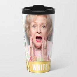 Golden Girls Betty White I'm dreaming of a white christmas Travel Mug
