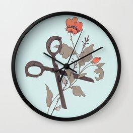 Cut Down Wall Clock