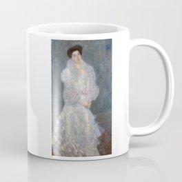 Gustav Klimt - Portrait of Hermine Gallia Coffee Mug