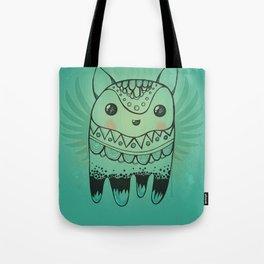 Jelly Fox Blue Tote Bag