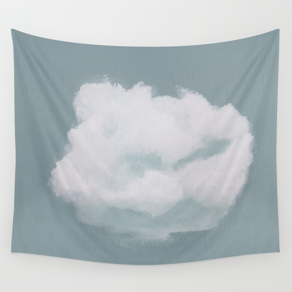 Dare To Dream - Cloud 18 Of 100 Wall Tapestry by Mjillustrates TPS6995468