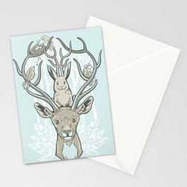 Friends & Birds Stationery Cards