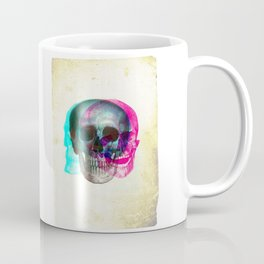Stereoscopic Skull Coffee Mug