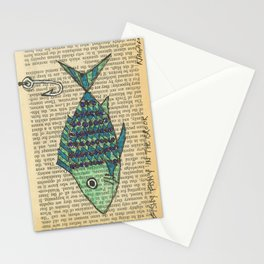 Fishy Fishy In The Brook Stationery Cards