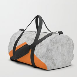 Concrete Arrow - Orange #118 Duffle Bag