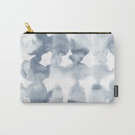 Dye Ovals Blue Fog Carry-All Pouch