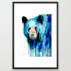 American black bear Framed Art Print