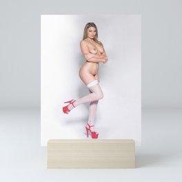 latex Woman titties game pussy erotic rear female naked vehicle Body cute Horny manga pornstar henta Mini Art Print