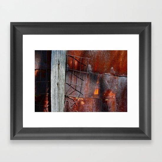Broken Through Framed Art Print