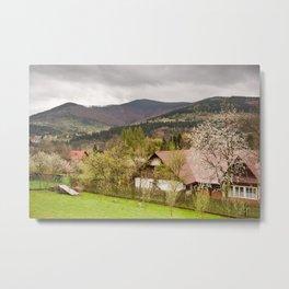 Babia Gora massif view Metal Print