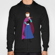 Anna from Frozen - Princesses series Hoody