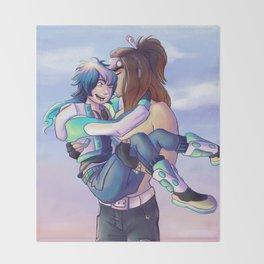Mink & Aoba Throw Blanket