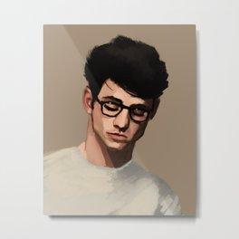 Guy's portrait Metal Print