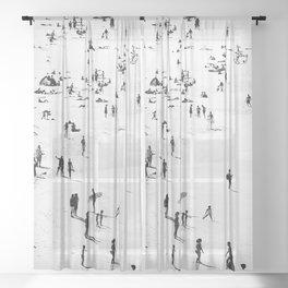 Silhouettes Sheer Curtain