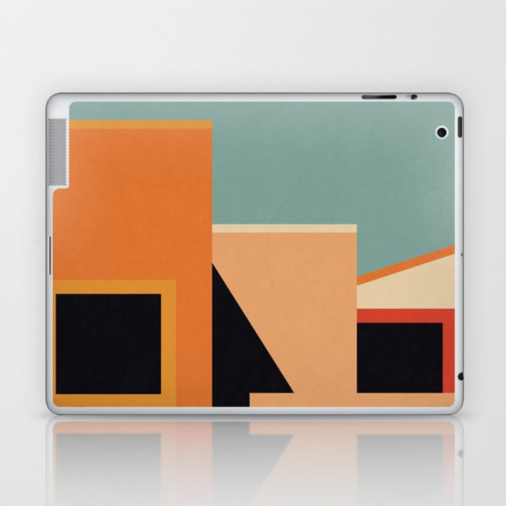 Summer Urban Landscape Laptop & iPad Skin