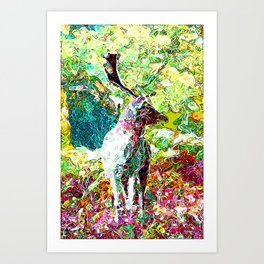 Dream Stag Art Print
