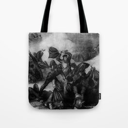 The Battle of Fort Pillow Tote Bag