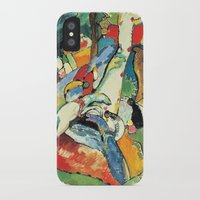 """kandinsky iPhone & iPod Cases featuring Vasily Kandinsky Sketch for """"Composition II"""" by Artlala for MSF Doctors Without Borders"""
