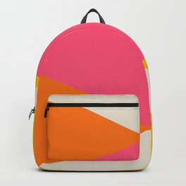 Colourful Large Geometric Triangles Backpack