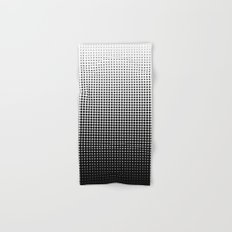 Halftone Gradient Hand & Bath Towel
