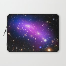 Colliding Galaxies Laptop Sleeve