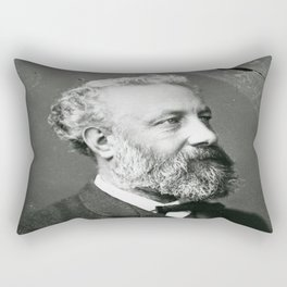 portrait of Jules Verne by Nadar Rectangular Pillow