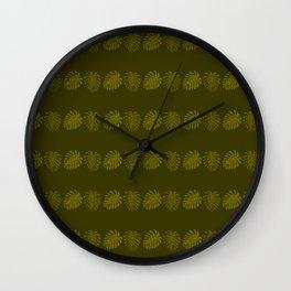 Palm shade Wall Clock