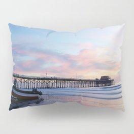 Dory Sunset Newport Beach Pier Pillow Sham
