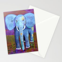 spirit of the elephant Stationery Cards