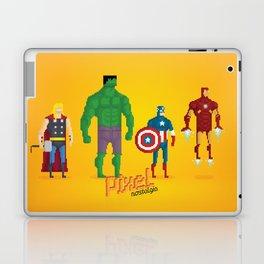 Super Heroes - Pixel Nostalgia Laptop & iPad Skin