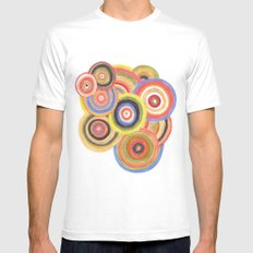 Swirling Desires Mens Fitted Tee White MEDIUM