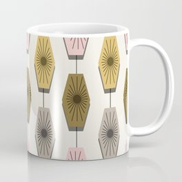 Mid Century Modern Pattern Coffee Mug