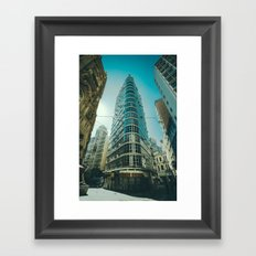 CITY - BUILDING - SQUARE - PHOTOGRAPHY Framed Art Print