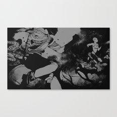 Runners Canvas Print