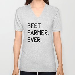 Best Farmer Ever Unisex V-Neck