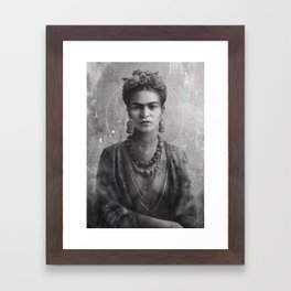Frida Ink Framed Art Print