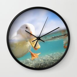The Duck Wall Clock