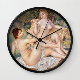 The Large Bathers Wall Clock