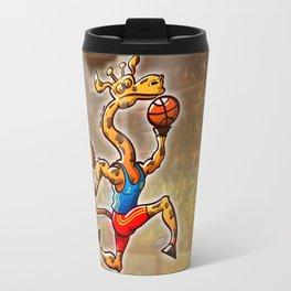 Olympic Basketball Giraffe Travel Mug