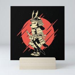 SAMURAI DOG Mini Art Print