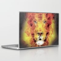 the lion king Laptop & iPad Skins featuring lion king by Ancello