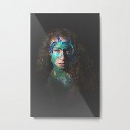 Colors of Women, B.L. Metal Print
