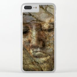 Dreams Of Tomorrow Clear iPhone Case