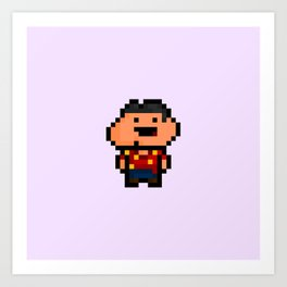 Glenn Quagmire - Family Guy Art Print